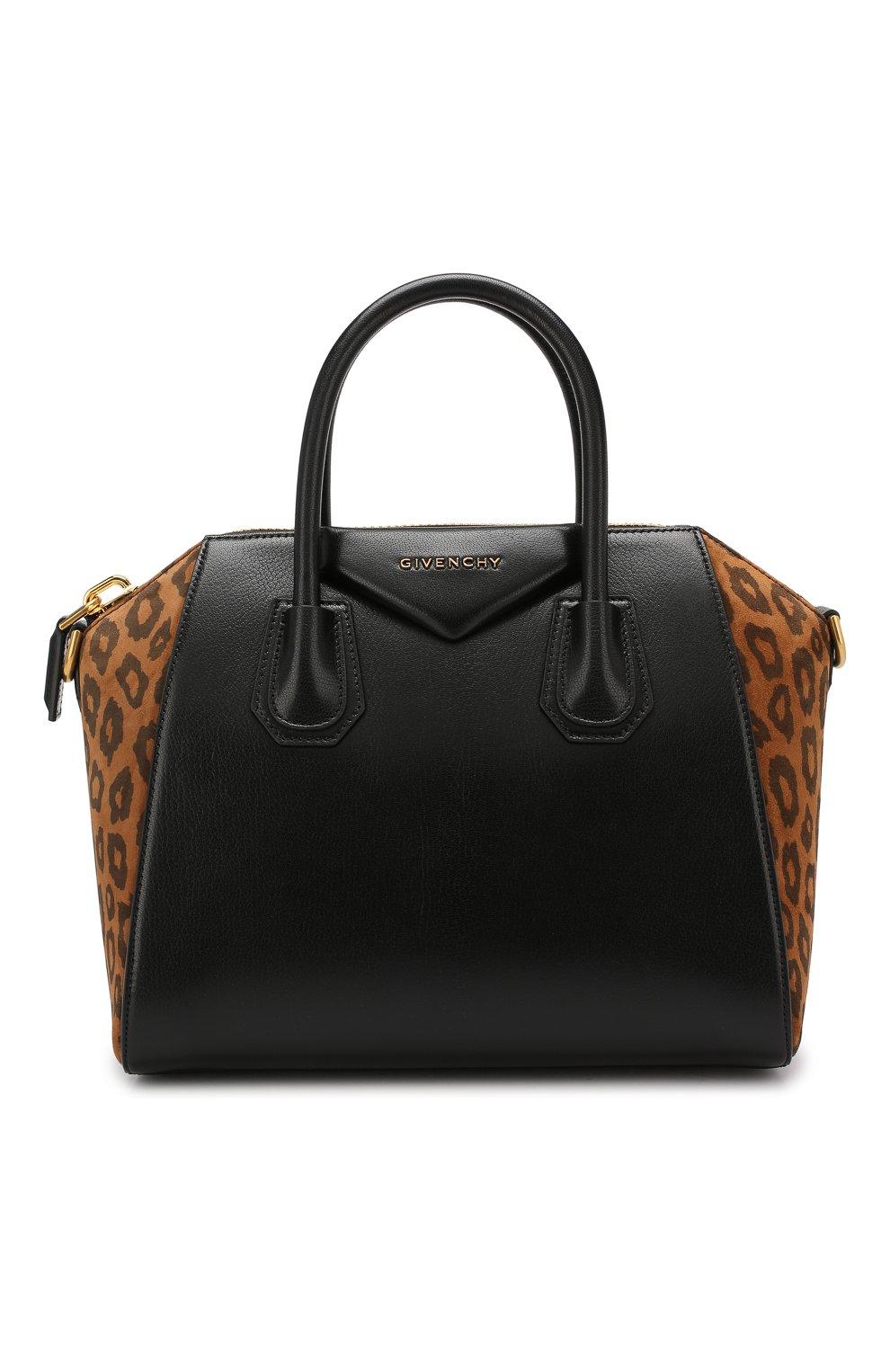 Сумка Antigona small Givenchy черная цвета | Фото №1
