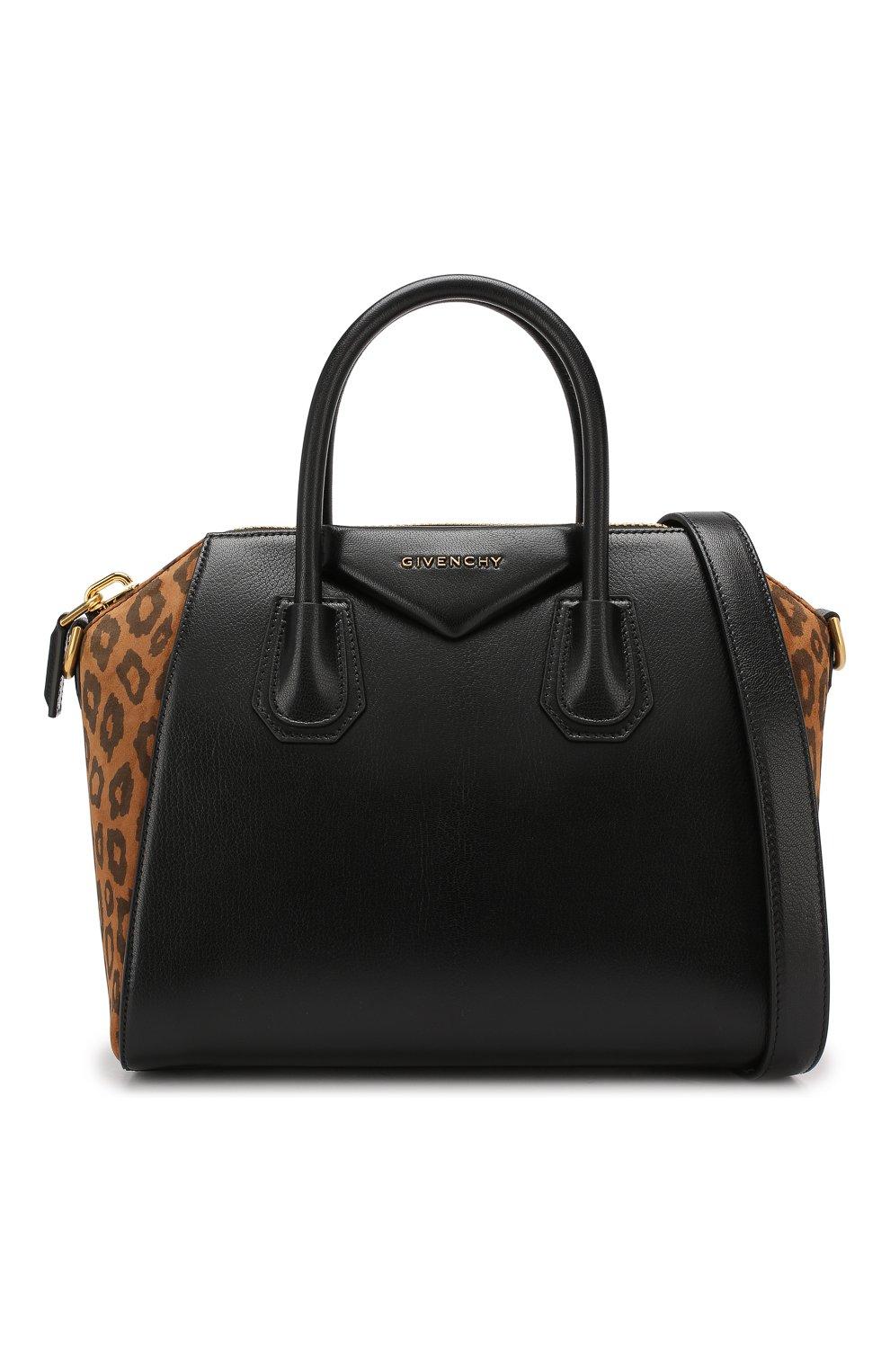 Сумка Antigona small Givenchy черная цвета | Фото №6