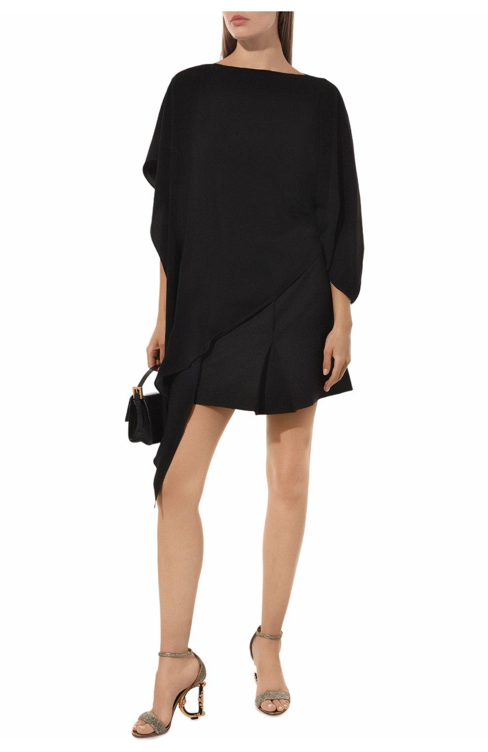 Босоножки Keira Dolce & Gabbana золотые | Фото №2