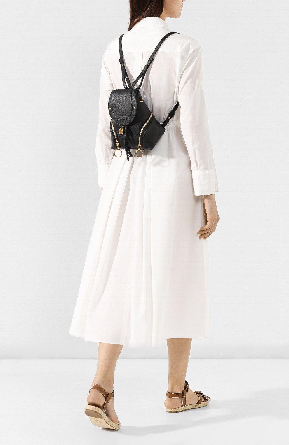 Женский рюкзак olga SEE BY CHLOÉ черного цвета, арт. CHS17AS922349 | Фото 2