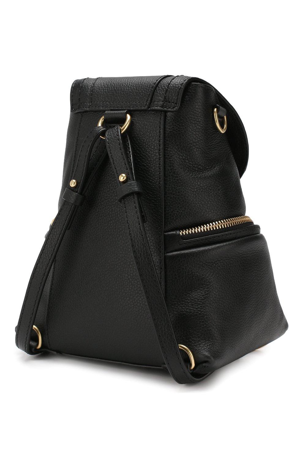 Женский рюкзак olga SEE BY CHLOÉ черного цвета, арт. CHS17AS922349 | Фото 3