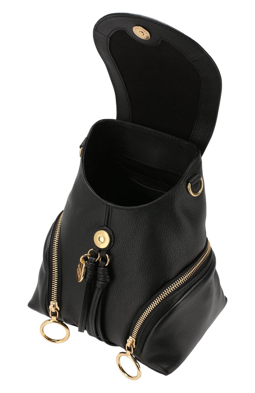 Женский рюкзак olga SEE BY CHLOÉ черного цвета, арт. CHS17AS922349 | Фото 4