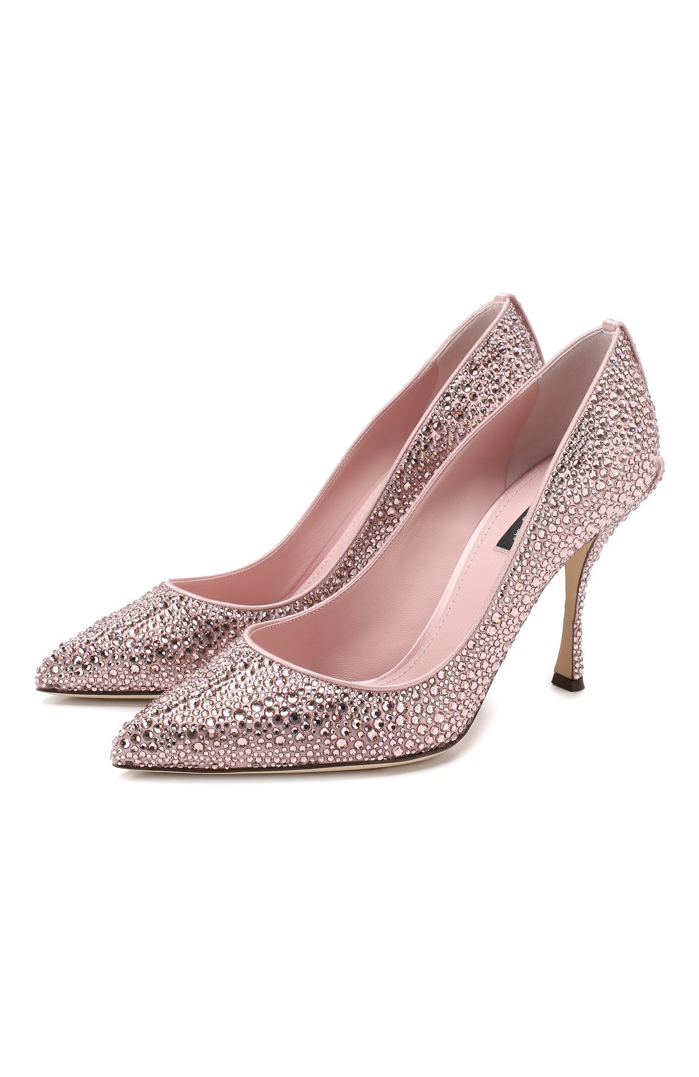 Туфли Lori Dolce & Gabbana розовые | Фото №1