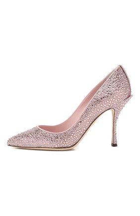 Туфли Lori Dolce & Gabbana розовые | Фото №3
