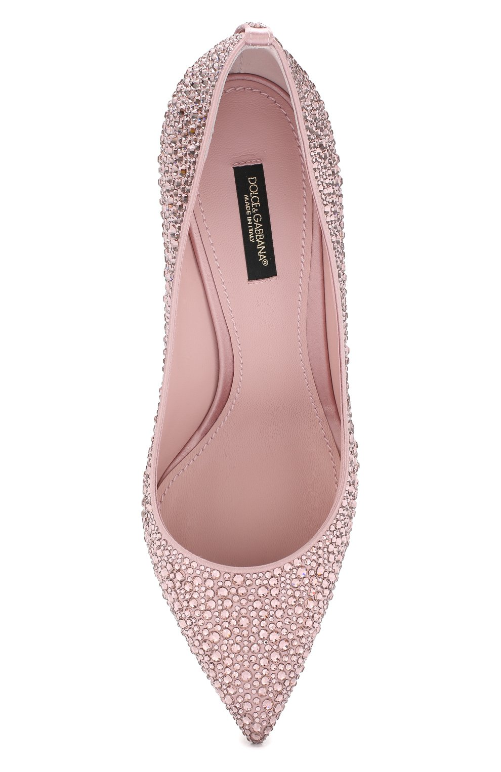 Туфли Lori Dolce & Gabbana розовые | Фото №5
