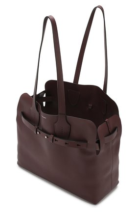 Сумка Soft Belt Bag Burberry бордовая цвета | Фото №5