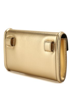 Поясная сумка Devotion Dolce & Gabbana золотая | Фото №3