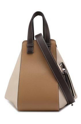 Сумка Hammock Loewe светло-коричневая цвета | Фото №6