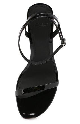 Кожаные босоножки Vetements черные | Фото №5