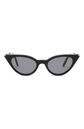 Женские солнцезащитные очки ILLESTEVA черного цвета, арт. ISABELLA BLACK/GREY   Фото 3