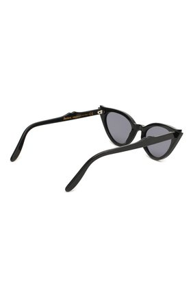 Женские солнцезащитные очки ILLESTEVA черного цвета, арт. ISABELLA BLACK/GREY   Фото 4