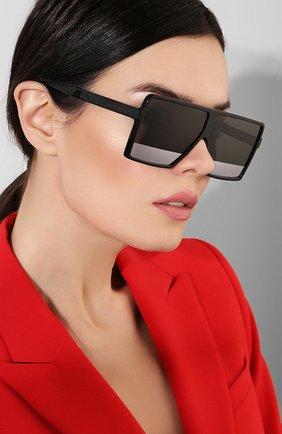 Женские солнцезащитные очки SAINT LAURENT черного цвета, арт. SL 183 BETTY S 002   Фото 2