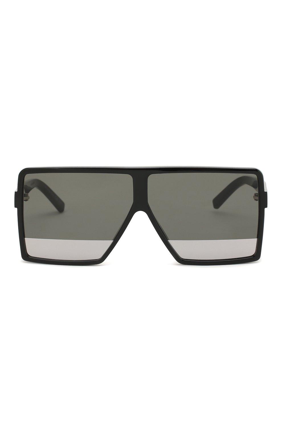 Женские солнцезащитные очки SAINT LAURENT черного цвета, арт. SL 183 BETTY S 002   Фото 3