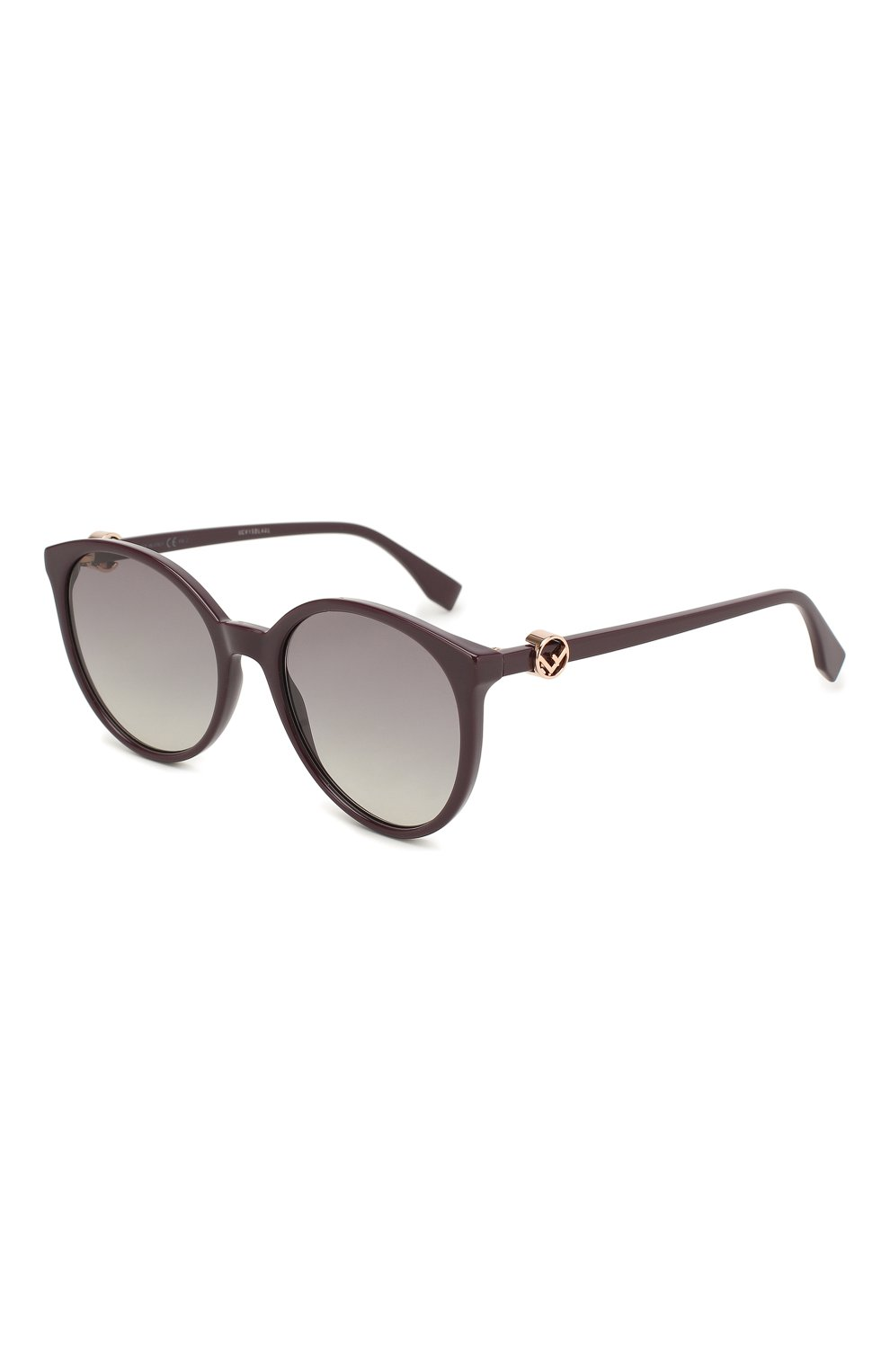 Женские солнцезащитные очки FENDI фиолетового цвета, арт. 0288 0T7   Фото 1