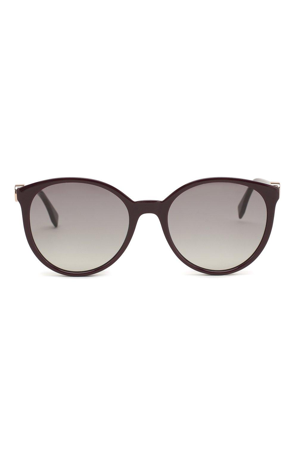 Женские солнцезащитные очки FENDI фиолетового цвета, арт. 0288 0T7   Фото 3