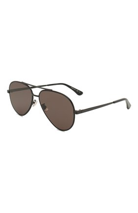 Женские солнцезащитные очки SAINT LAURENT черного цвета, арт. CLASSIC 11 ZER0 005 | Фото 1