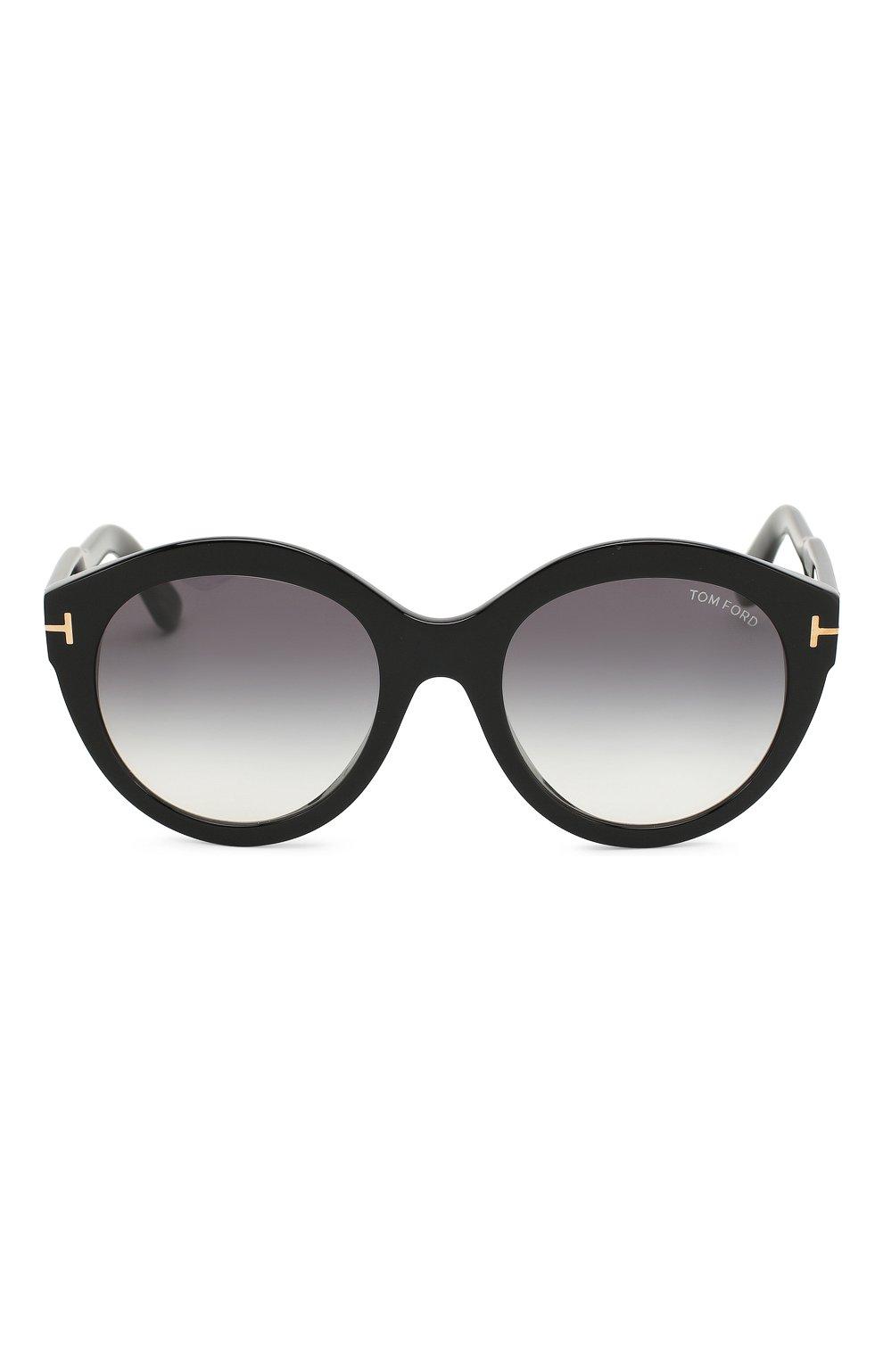 Женские солнцезащитные очки TOM FORD черного цвета, арт. TF661 01B | Фото 3
