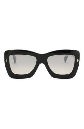 Женские солнцезащитные очки TOM FORD черного цвета, арт. TF664 01C | Фото 3