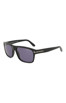 Мужские солнцезащитные очки TOM FORD черного цвета, арт. TF678 01V | Фото 1
