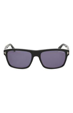 Мужские солнцезащитные очки TOM FORD черного цвета, арт. TF678 01V | Фото 2