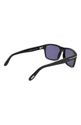 Мужские солнцезащитные очки TOM FORD черного цвета, арт. TF678 01V | Фото 3