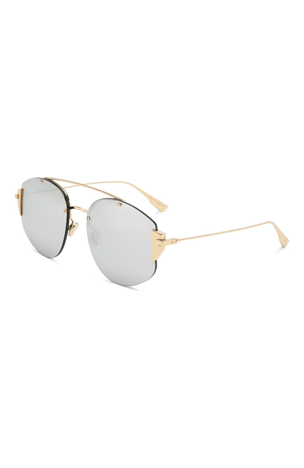 Женские солнцезащитные очки DIOR серебряного цвета, арт. DI0RSTR0NGER 000 DC | Фото 1