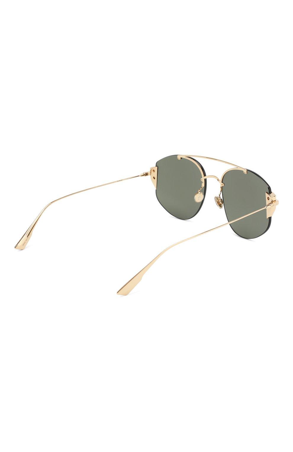 Женские солнцезащитные очки DIOR серебряного цвета, арт. DI0RSTR0NGER 000 DC | Фото 4