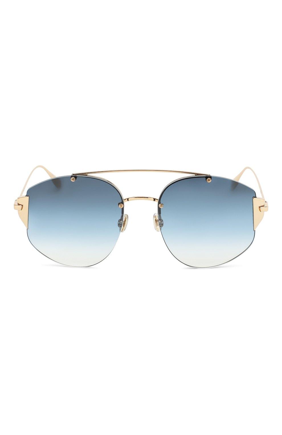 Женские солнцезащитные очки DIOR синего цвета, арт. DI0RSTR0NGER 000 NE | Фото 3