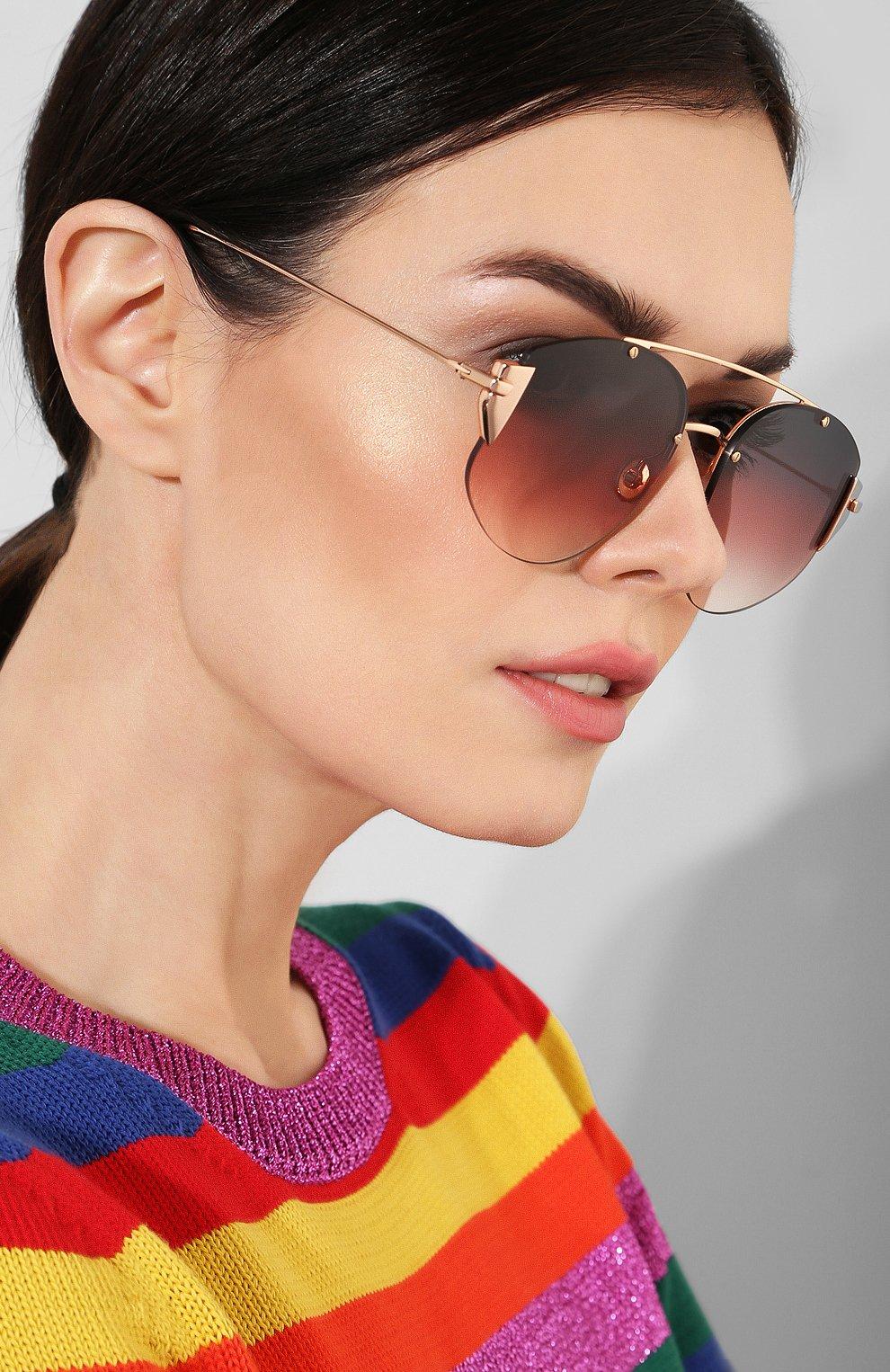 Солнцезащитные очки Dior красные | Фото №2