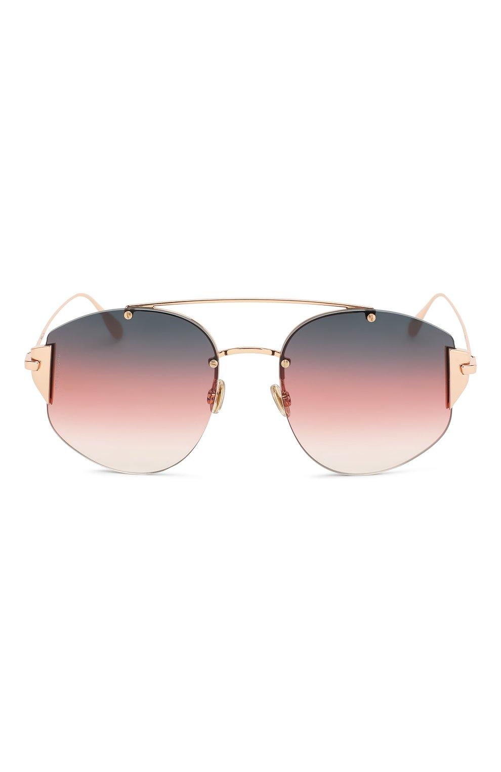 Солнцезащитные очки Dior красные | Фото №3
