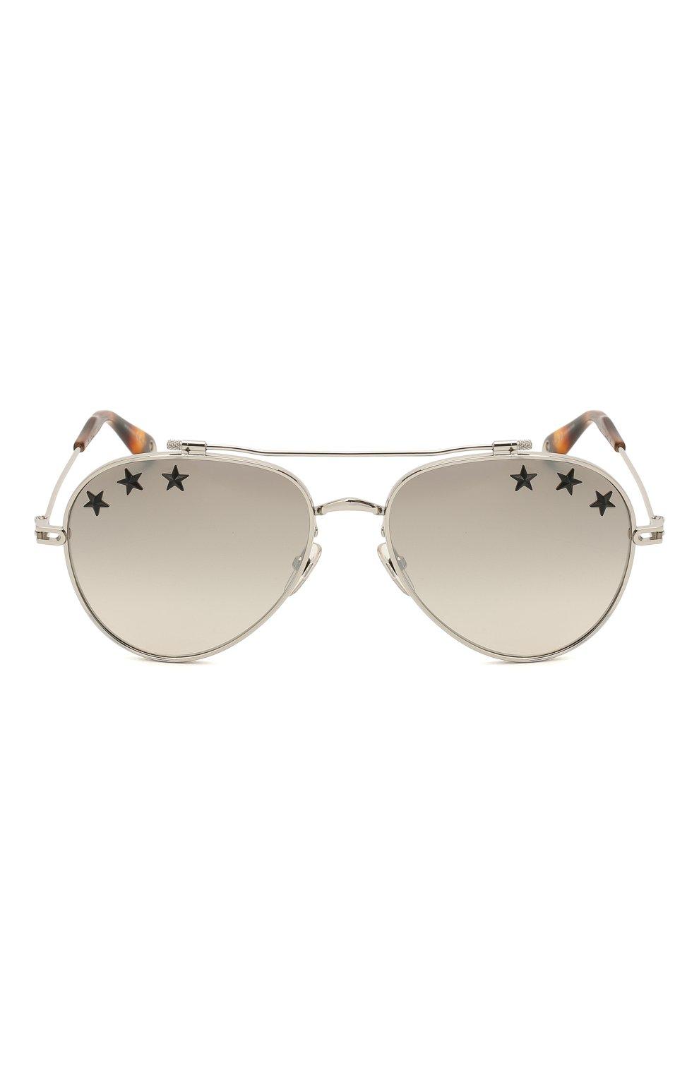 Солнцезащитные очки Givenchy серебряные | Фото №4