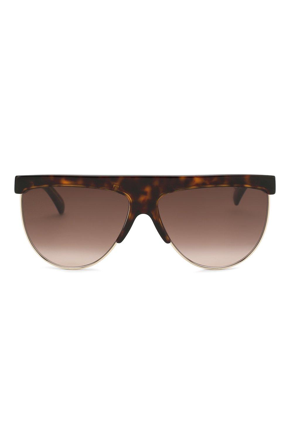 Женские солнцезащитные очки GIVENCHY коричневого цвета, арт. 7118/G 086 | Фото 3