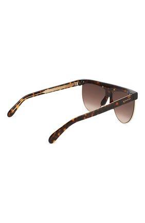 Женские солнцезащитные очки GIVENCHY коричневого цвета, арт. 7118/G 086 | Фото 4