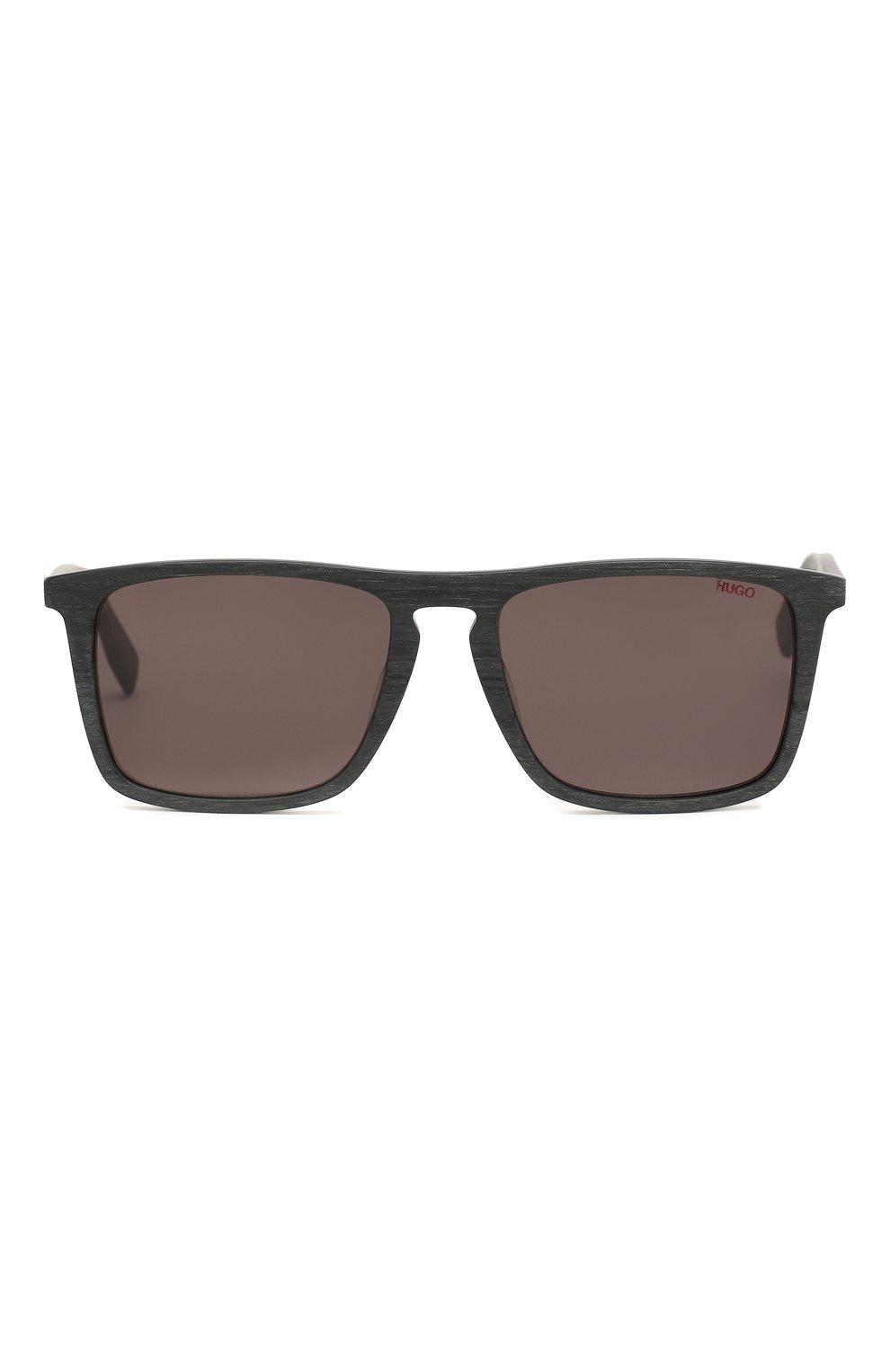 Женские солнцезащитные очки BOSS темно-серого цвета, арт. 0320 2X8 | Фото 2