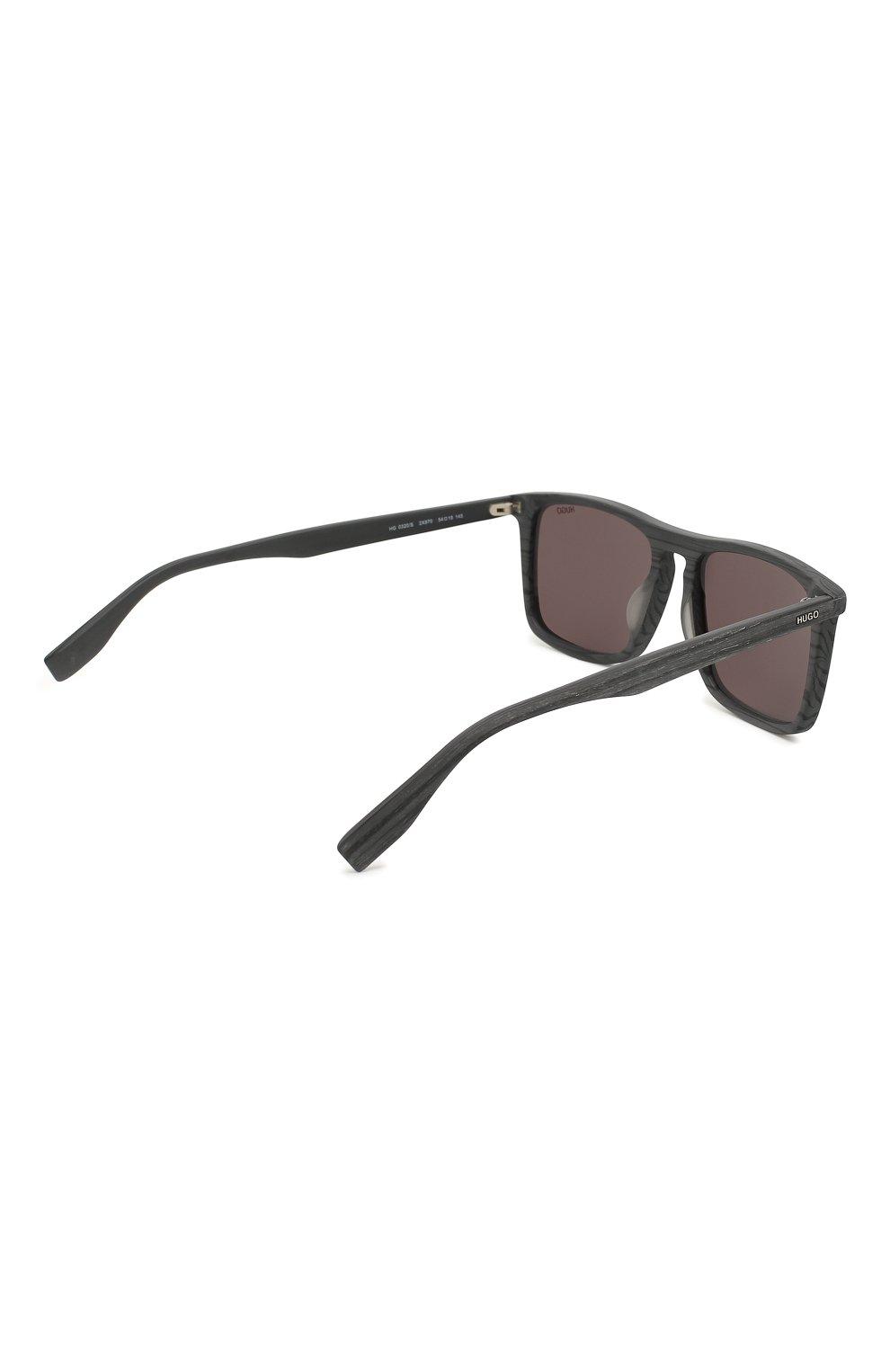 Женские солнцезащитные очки BOSS темно-серого цвета, арт. 0320 2X8 | Фото 3