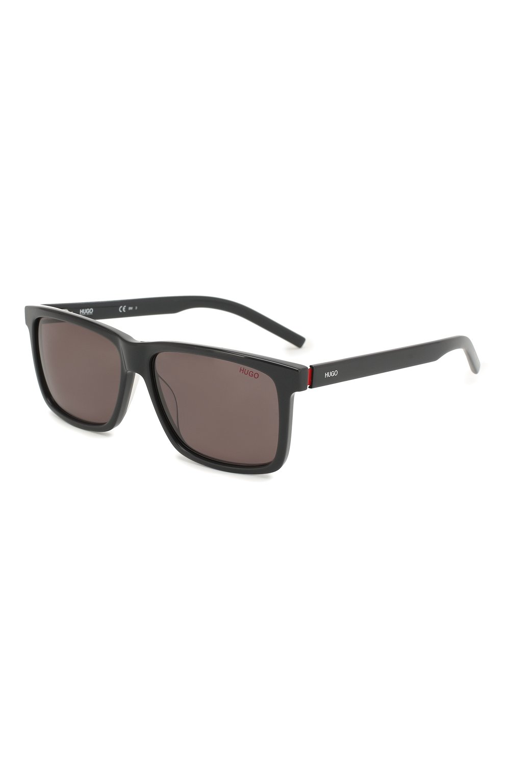 Мужские солнцезащитные очки BOSS темно-серого цвета, арт. 1013 KB7   Фото 1