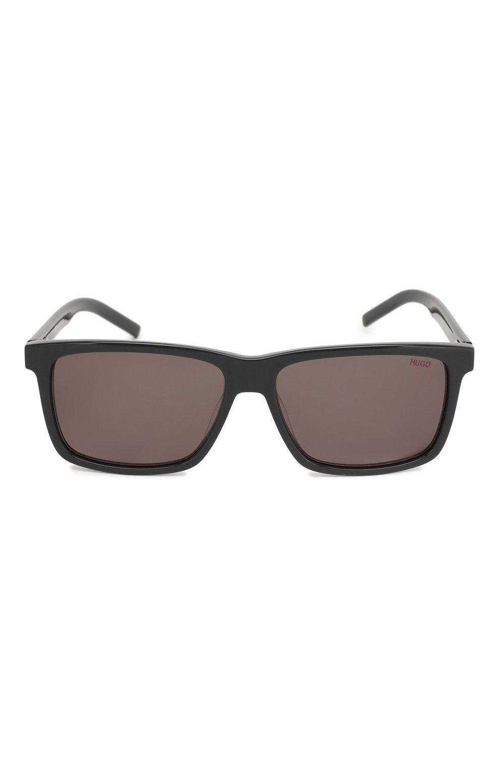 Мужские солнцезащитные очки BOSS темно-серого цвета, арт. 1013 KB7   Фото 2