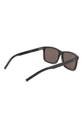 Мужские солнцезащитные очки BOSS темно-серого цвета, арт. 1013 KB7   Фото 3