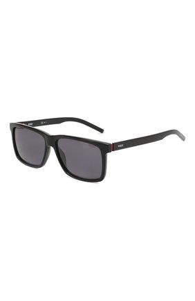 Мужские солнцезащитные очки BOSS черного цвета, арт. 1013 0IT   Фото 1
