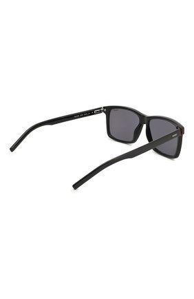 Мужские солнцезащитные очки BOSS черного цвета, арт. 1013 0IT   Фото 3