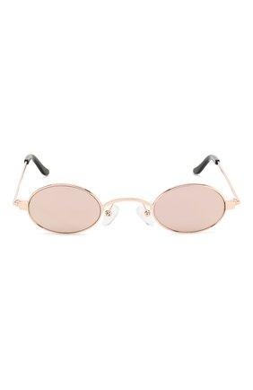 Солнцезащитные очки Roberi & Fraud золотые | Фото №3