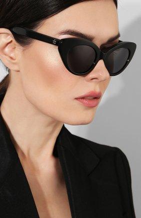 Солнцезащитные очки Roberi & Fraud черные | Фото №2