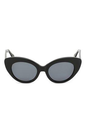 Солнцезащитные очки Roberi & Fraud черные | Фото №3