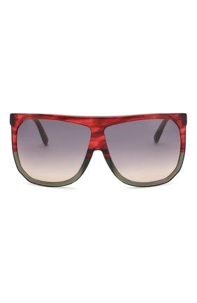 Солнцезащитные очки Loewe красные | Фото №3