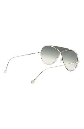 Солнцезащитные очки Loewe серебряные | Фото №4