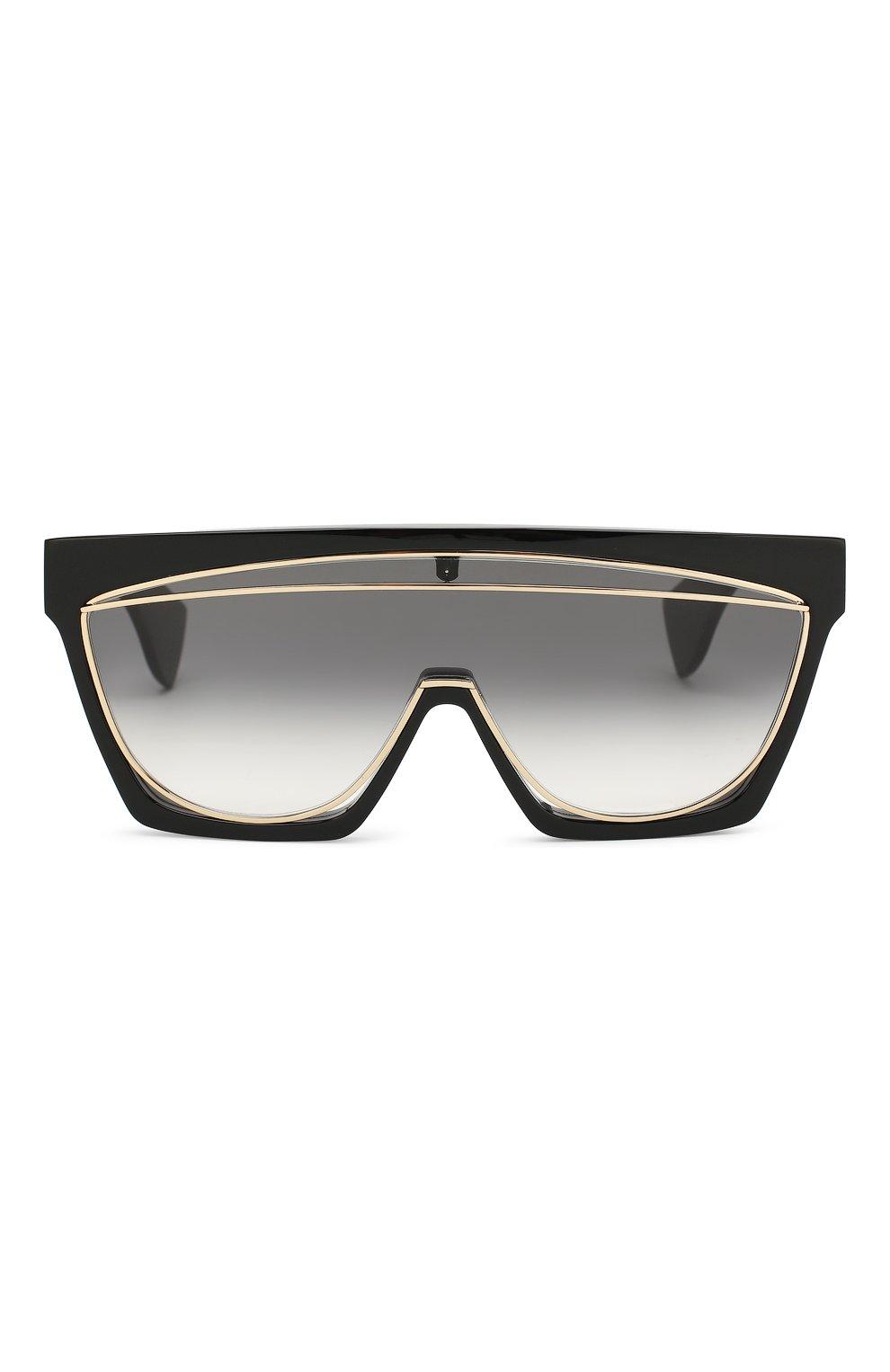 Солнцезащитные очки Loewe черные   Фото №3