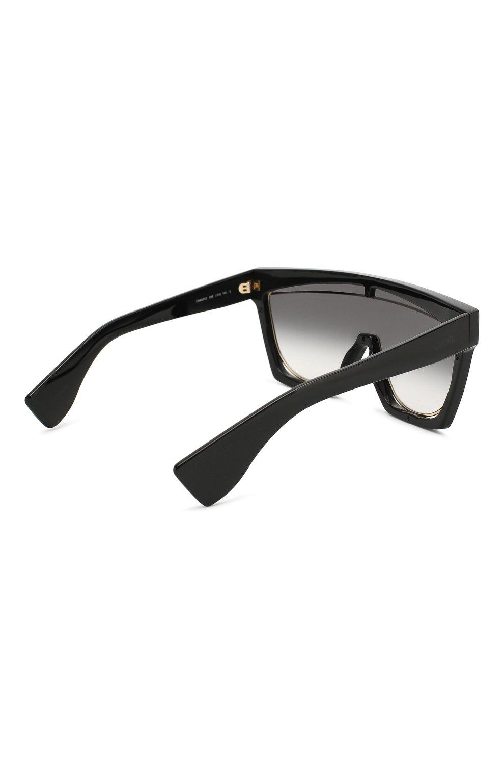 Солнцезащитные очки Loewe черные   Фото №4
