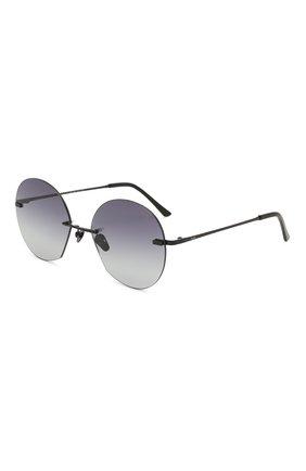 Женские солнцезащитные очки SPEKTRE черного цвета, арт. DALI 01AFT | Фото 1