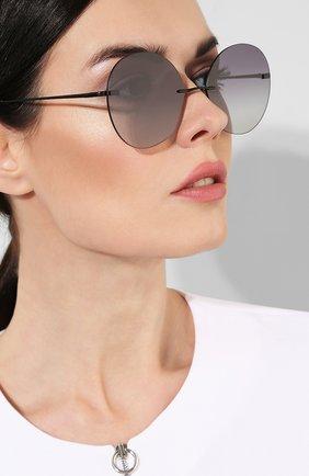 Женские солнцезащитные очки SPEKTRE черного цвета, арт. DALI 01AFT | Фото 2