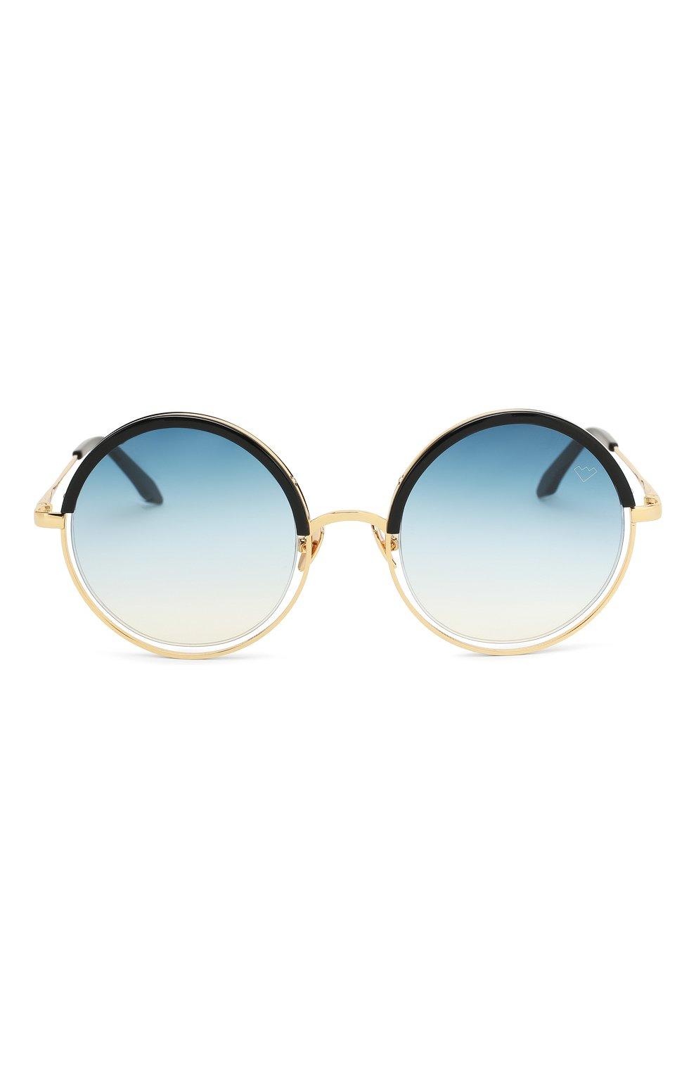 Женские солнцезащитные очки SPEKTRE синего цвета, арт. DECHIRIC0 01BFT | Фото 3